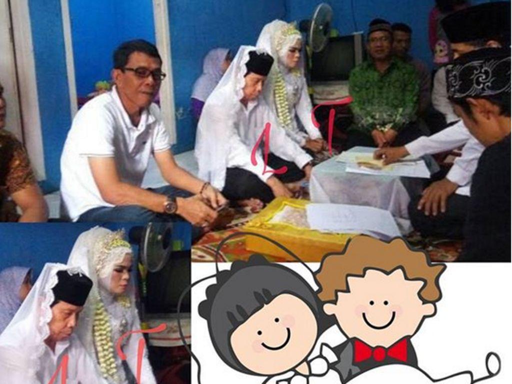 Pesta Pernikahan Malih Tong Tong Digelar Secara Sederhana