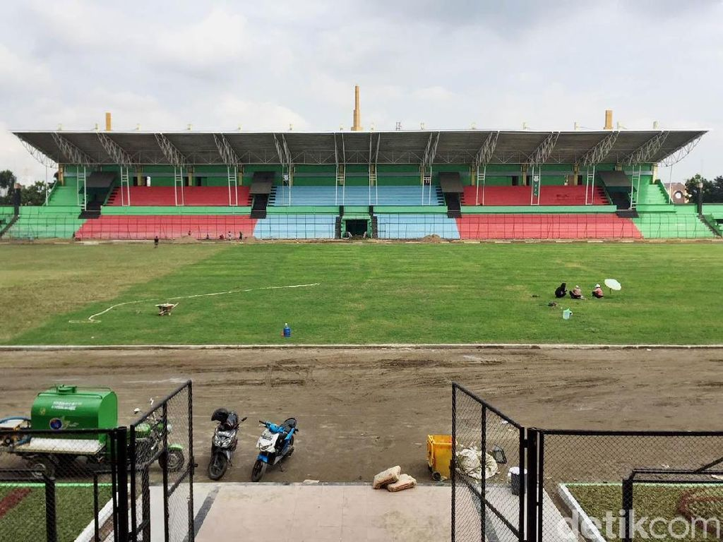 Penampakan Renovasi Stadion Teladan