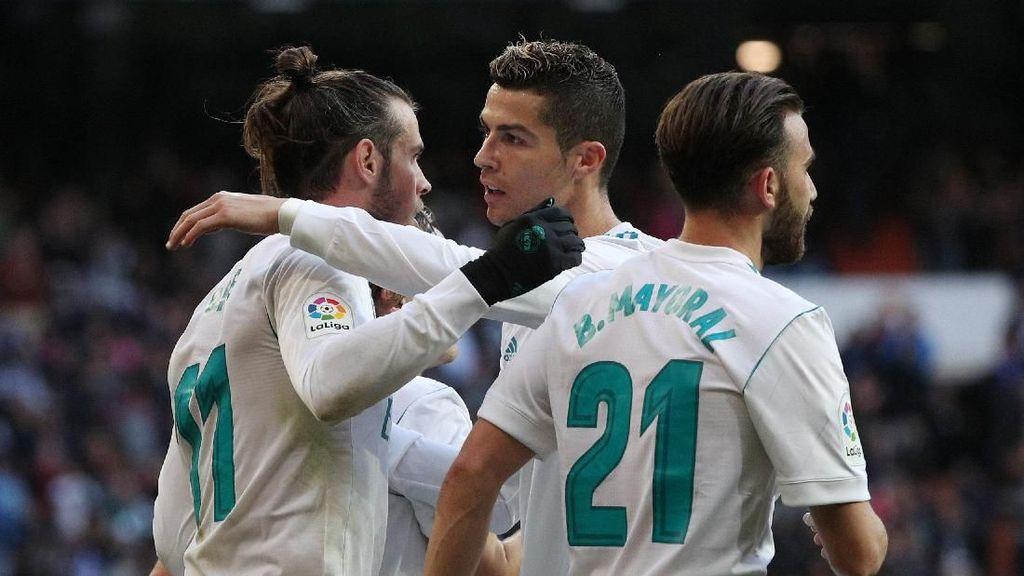 Bale-Ronaldo Antar Madrid Hancurkan Deportivo 7-1
