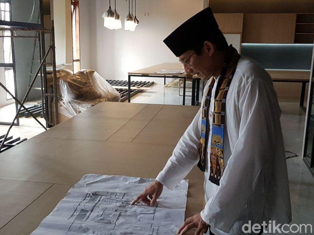 Foto Denah Coworking Space Anies-Sandi di Balai Kota
