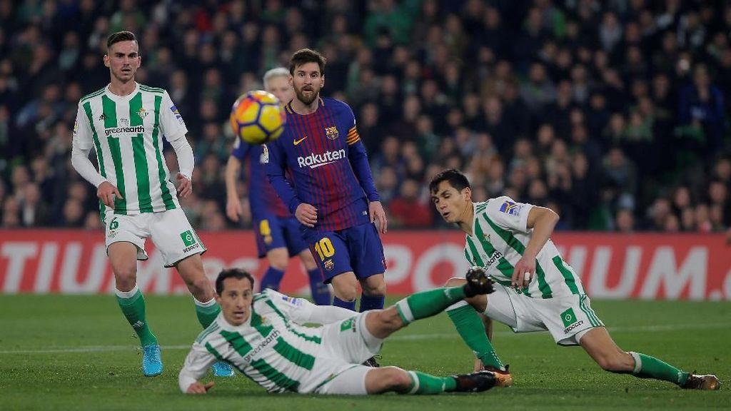 Messi-Suarez Menangkan Barca atas Betis 5-0