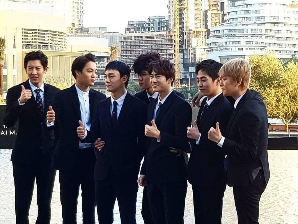 Lagu BTS atau EXO akan Diputar di Stadion Piala Dunia, Pilih Mana?