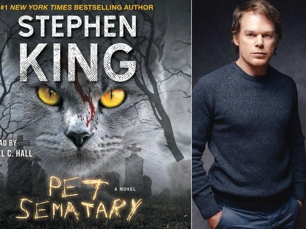 Di Balik Misteri Sampul Novel Pet Sematary Stephen King