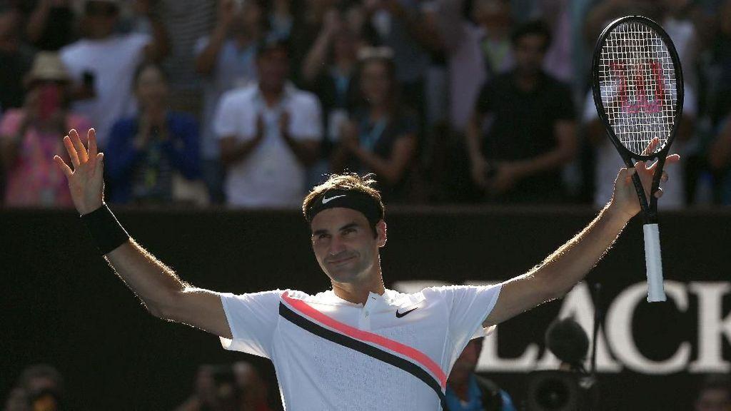 Federer: Permainan Saya Mirip Pete Sampras