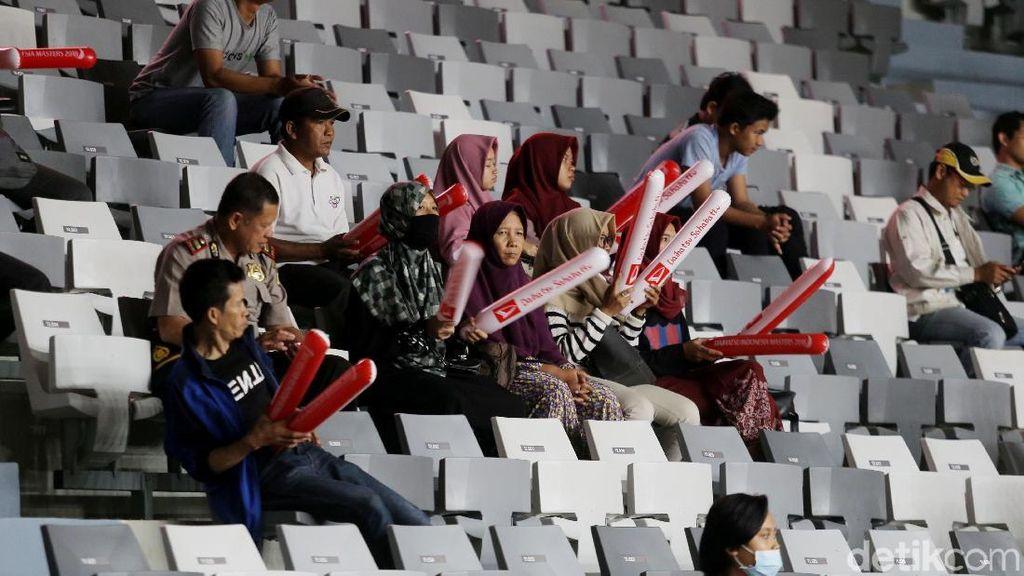 Suasana Indonesia Master Hari Pertama Masih Sepi