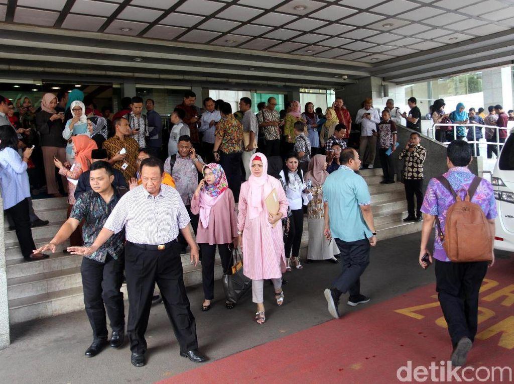 Riuh di DPR Saat Gempa Guncang Jakarta