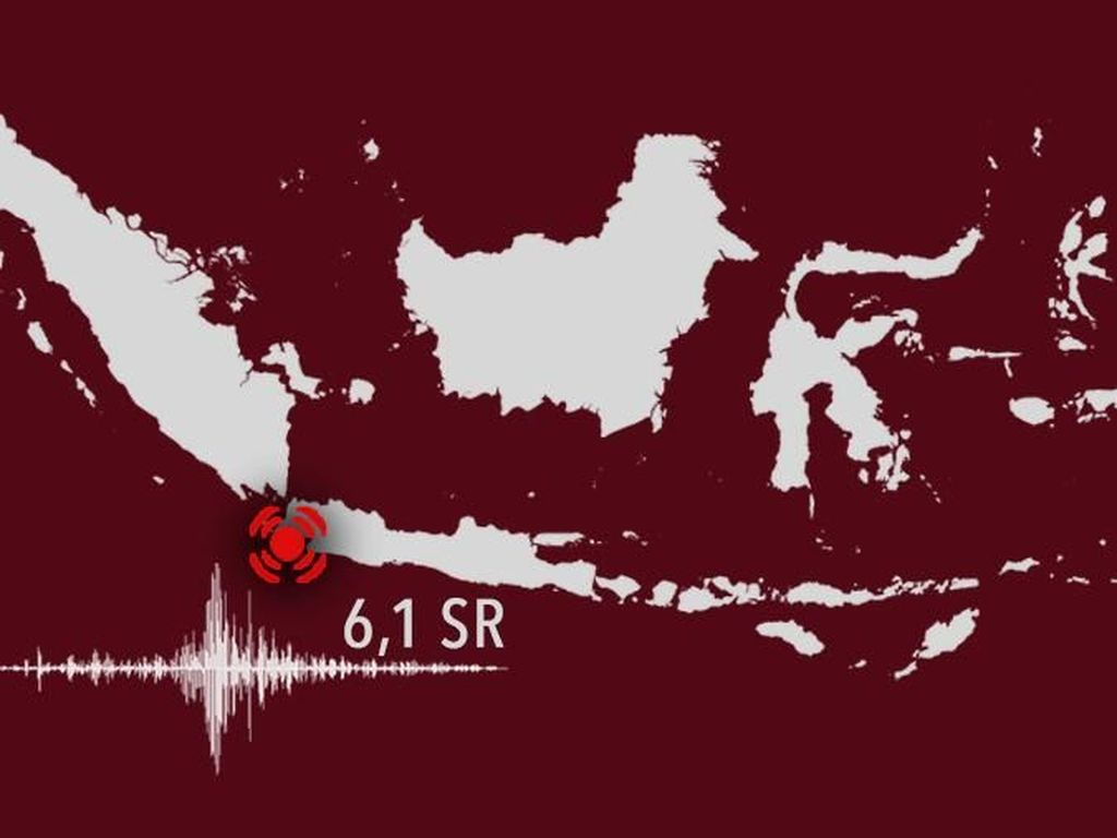 Ada 17 Gempa Susulan Pasca Gempa 6,1 SR