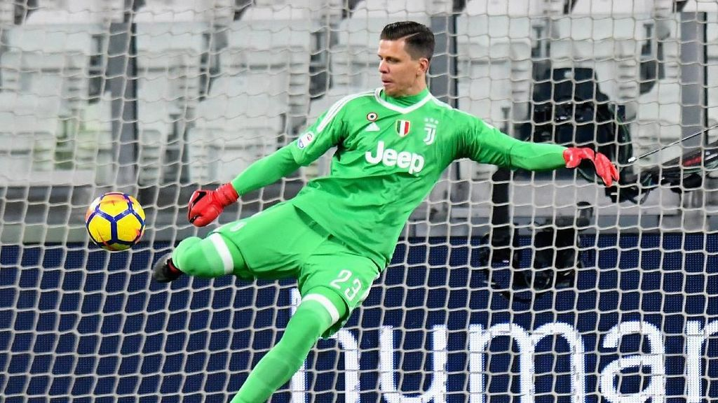 Szczesny Oke, tapi Buffon Masih Nomor Satu di Juventus