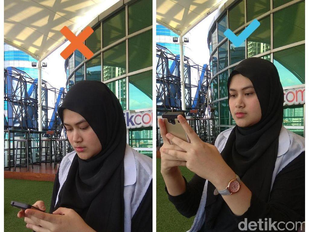 Foto: Tips Menghindari Nyeri Leher Saat Kecanduan Smartphone