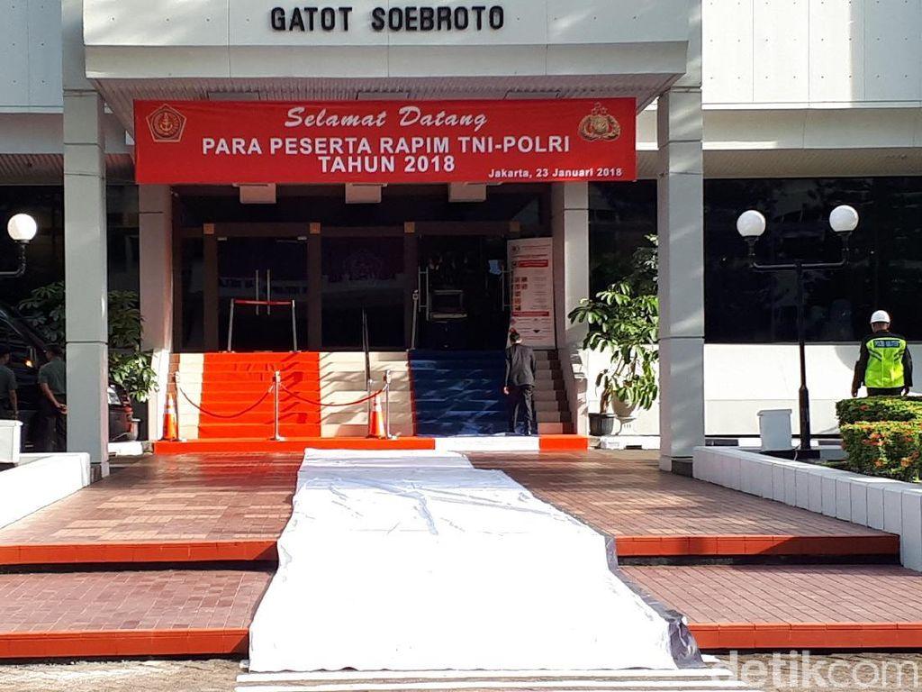 TNI-Polri Gelar Rapim, Acara Akan Dibuka Presiden Jokowi