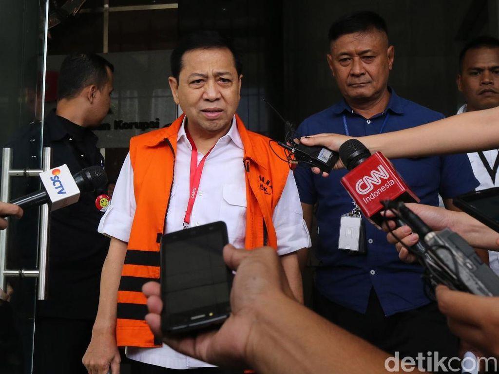 Setya Novanto Kembali Diperiksa KPK sebagai Saksi Kasus e-KTP