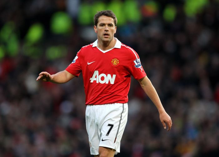 MANCHESTER, ENGLAND - JANUARY 09:  Michael Owen of Manchester United looks on during the FA Cup sponsored by E.ON 3rd round match between Manchester United and Liverpool at Old Trafford on January 9, 2011 in Manchester, England. (Photo by Alex Livesey/Getty Images)