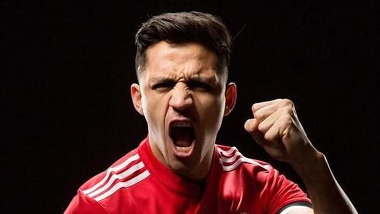Warisi Nomor Punggung 7, Sanchez Bermimpi Sesukses Cantona, Beckham, dan Ronaldo