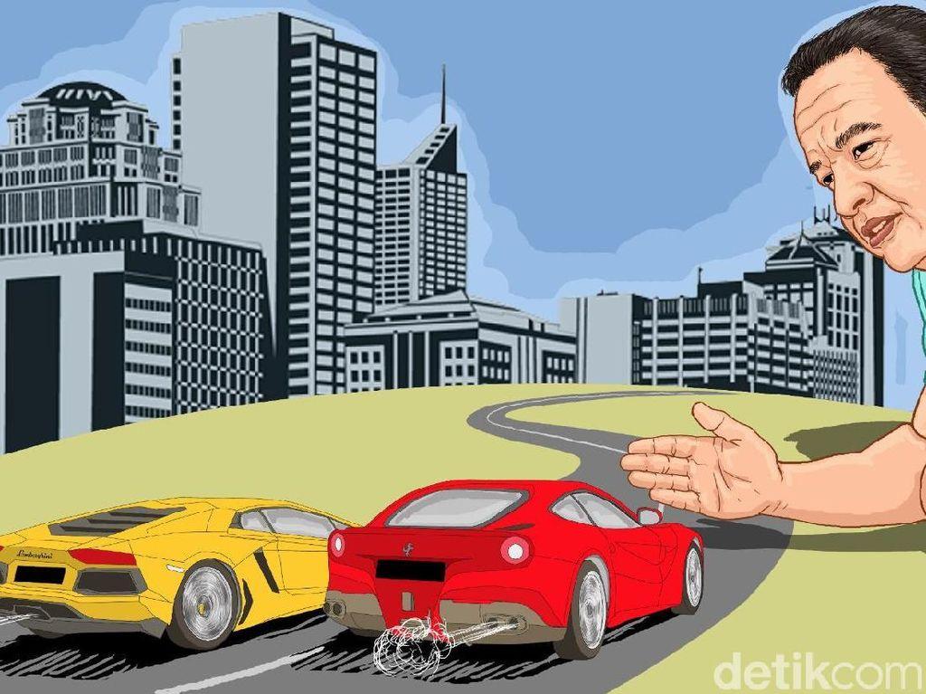 Berpacu Mengejar Pajak Mobil Mewah
