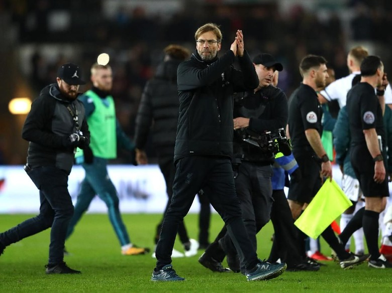 Liverpool Tumbang di Markas Swansea, Klopp Frustrasi dan Marah