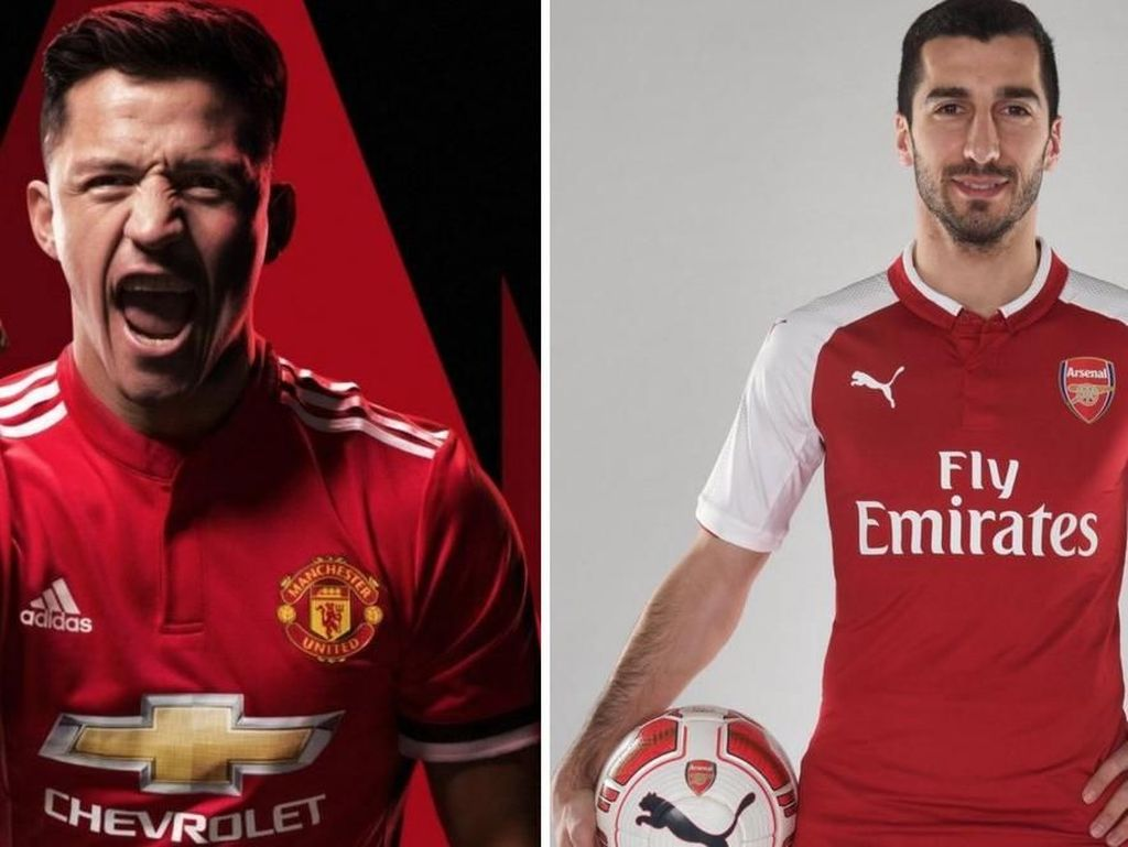 Meme-Meme Kocak dari Transfer Sanchez-Mkhitaryan