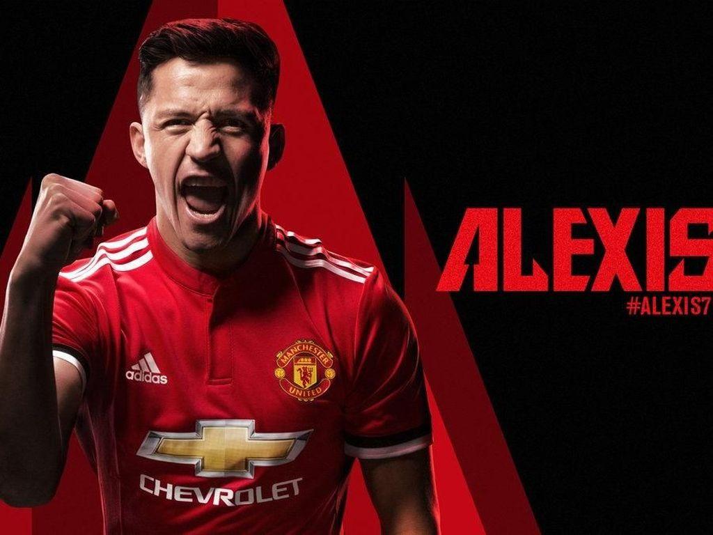 Denting Piano dan Glory Glory Man United untuk Umumkan Kedatangan Sanchez