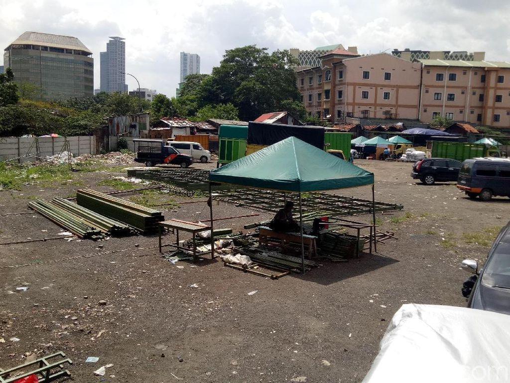 Lokasi Penampungan Sementara Blok G Tanah Abang Masih Dibahas