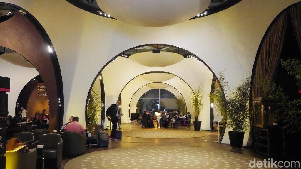 Foto: Intip Lounge Mewah Turkish Airlines di Istanbul
