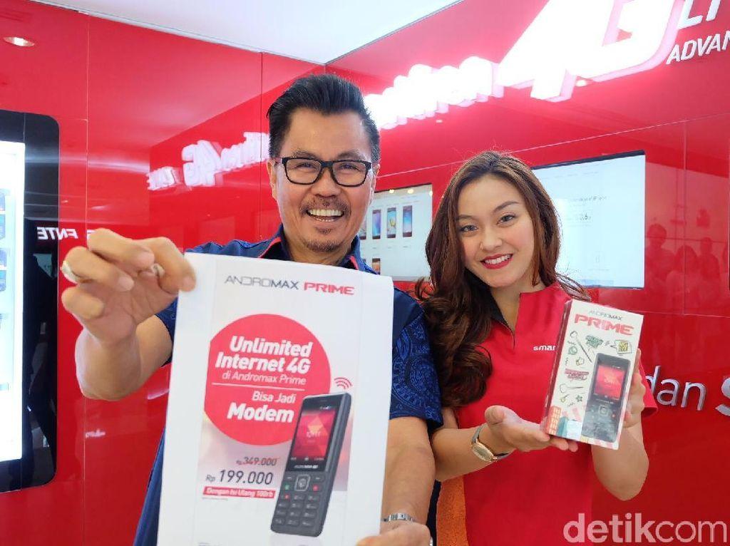 Gebrakan Smartfren Tawarkan Data Internet Unlimited