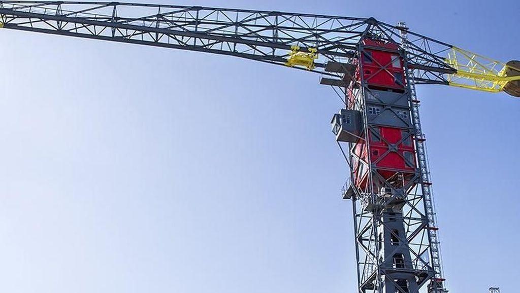 Foto: Hotel di Atas Crane, Seperti Apa Ya?