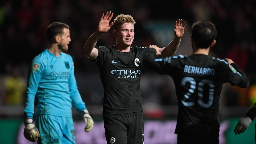 Depak Bristol, City Melangkah ke Final