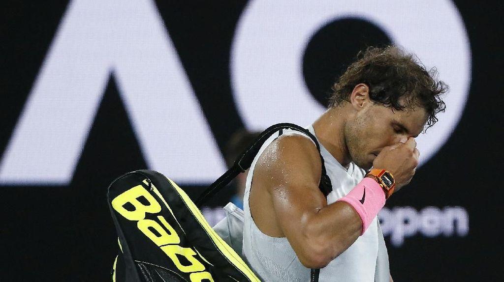 Betapa Kecewanya Rafael Nadal