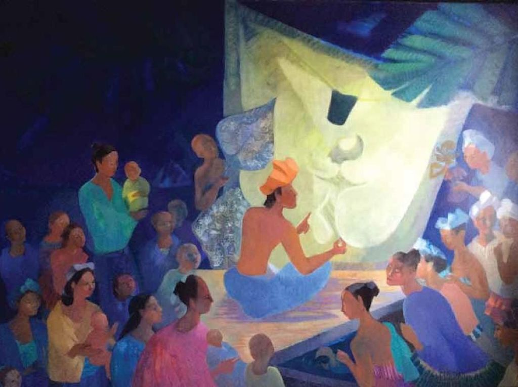 Lukisan-lukisan Perupa Geneviève Couteau Dipajang di Jakarta