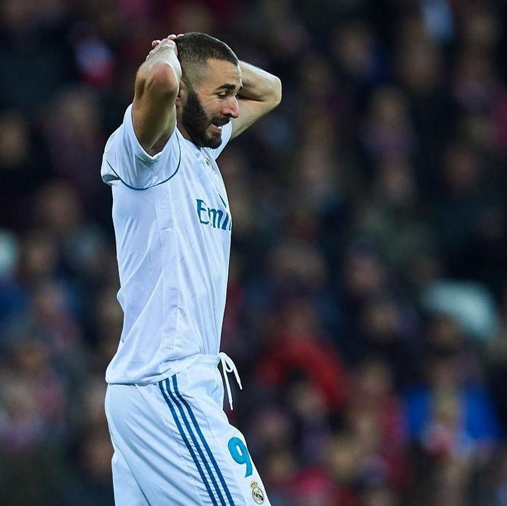 Performa Benzema Tak Membuat Zidane Khawatir