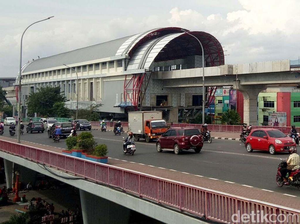 Disetop Sementara, Penyelesaian LRT Palembang Ditargetkan Tak Molor