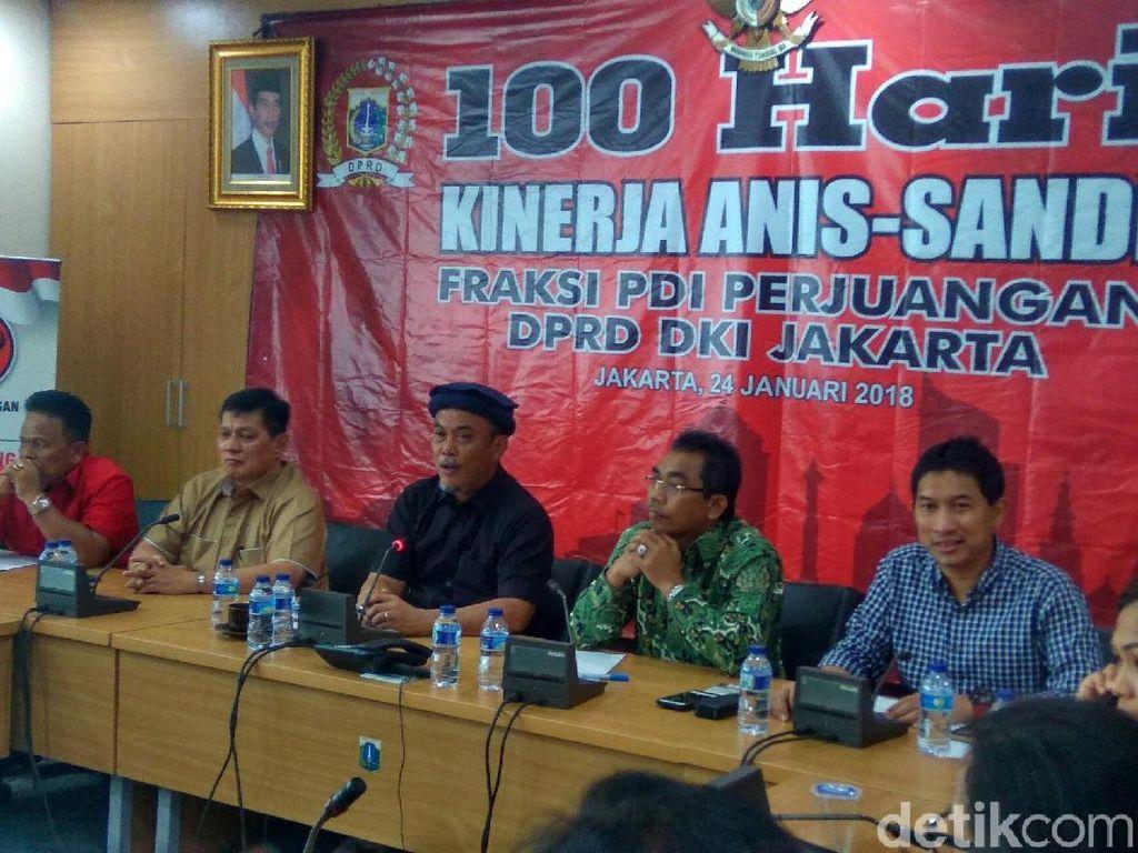 PDIP DKI Galang Dukungan untuk Interpelasi Anies-Sandi