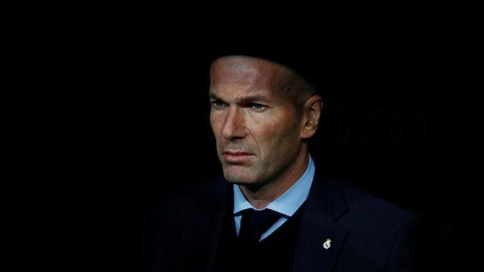 Pelatih Real Madrid, Zinedine Zidane (Foto: Juan Medina/Reuters)