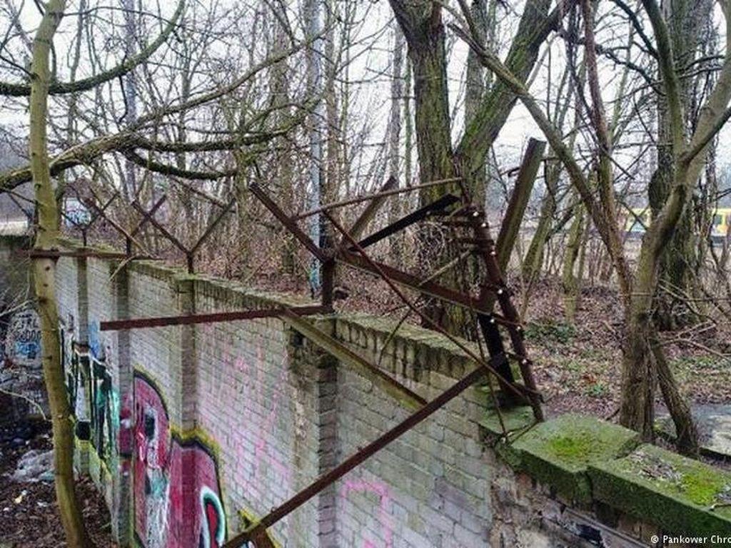 Pria Jerman Temukan Peninggalan Tembok Berlin