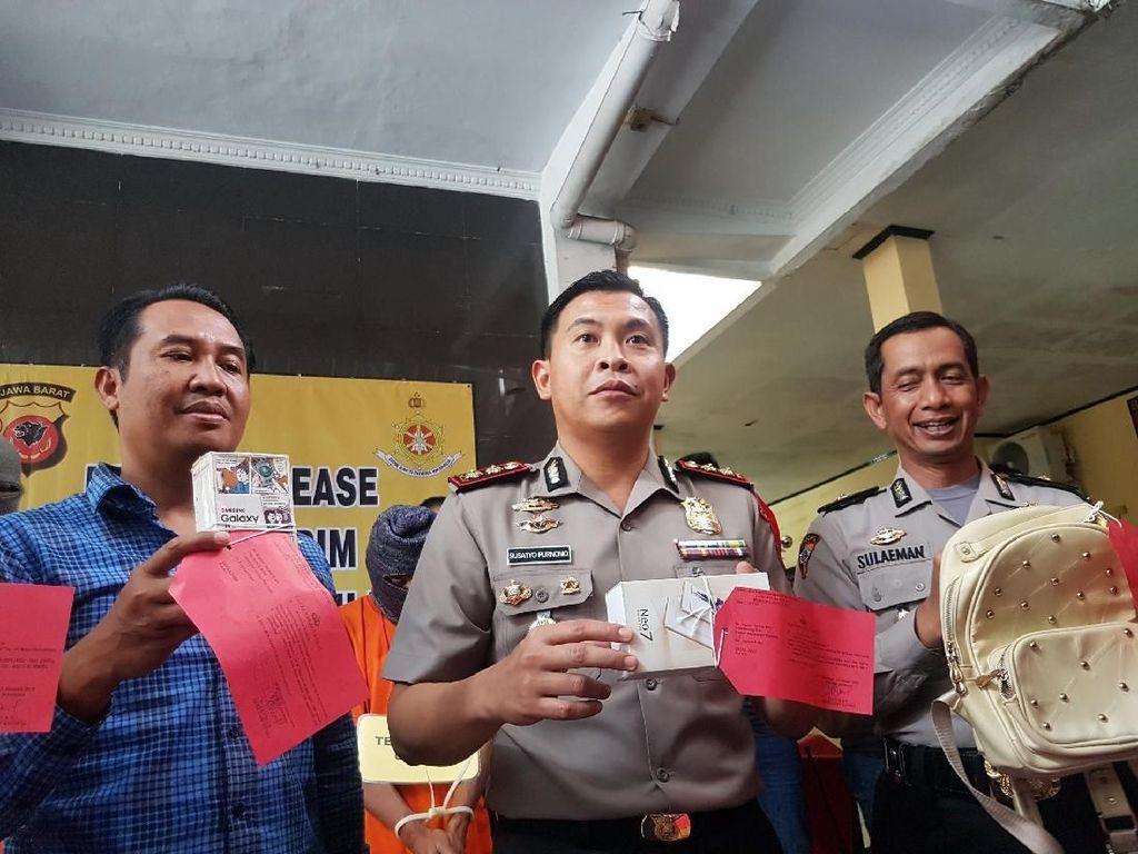 Foto: Terjerat Rentenir, Ratu Hipnotis Curi Barang Siswi Sukabumi
