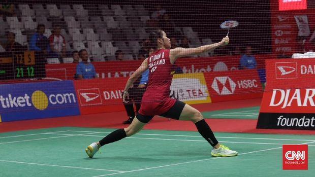 Penampilan Fitriani masih belum stabil jelang Asian Games 2018.