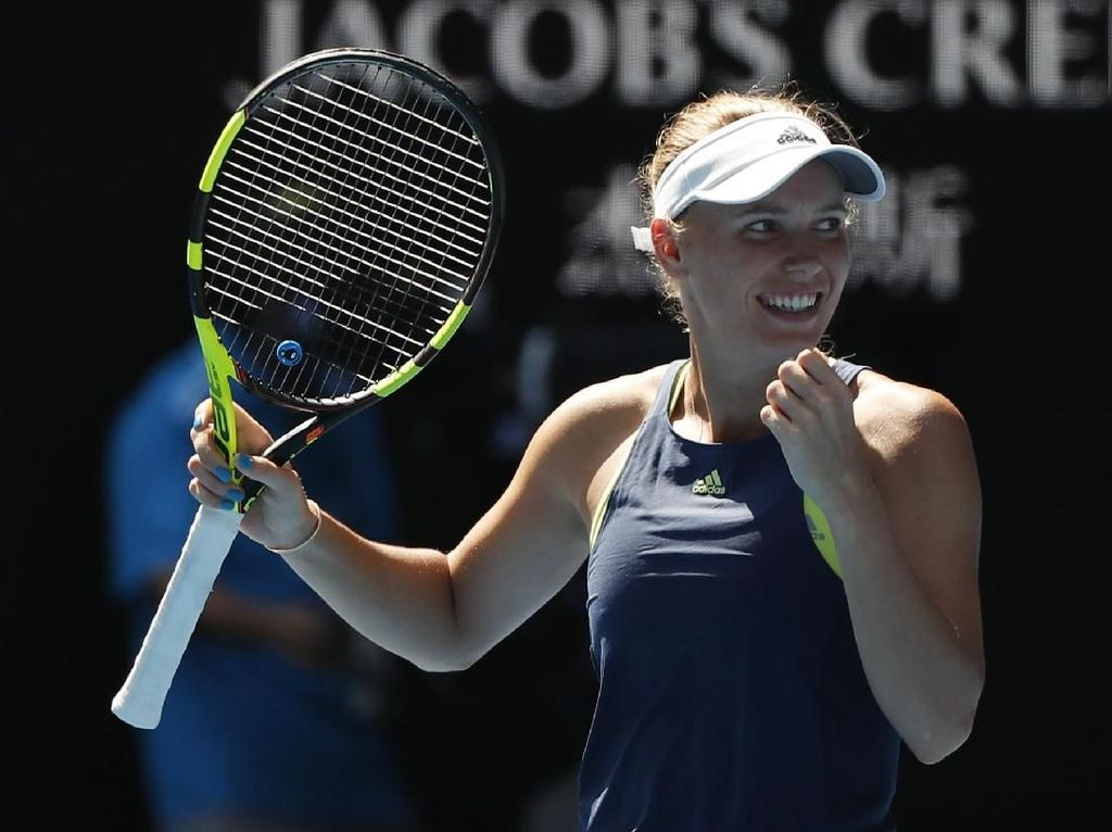 Wozniacki Tunggu Lawan di Final
