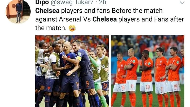 Chelsea Diejek Usai Kalah dari Arsenal