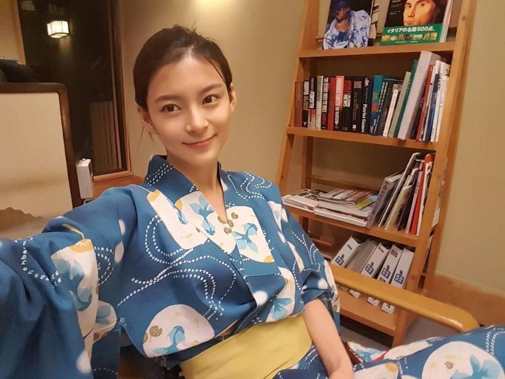 Transformasi Mengejutkan Artis Cantik Korea, Jadi Tampan Pasca Potong Rambut