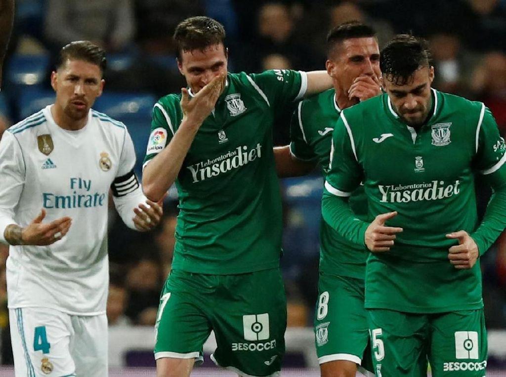 Noda Leganes untuk Madrid di Ajang Copa del Rey