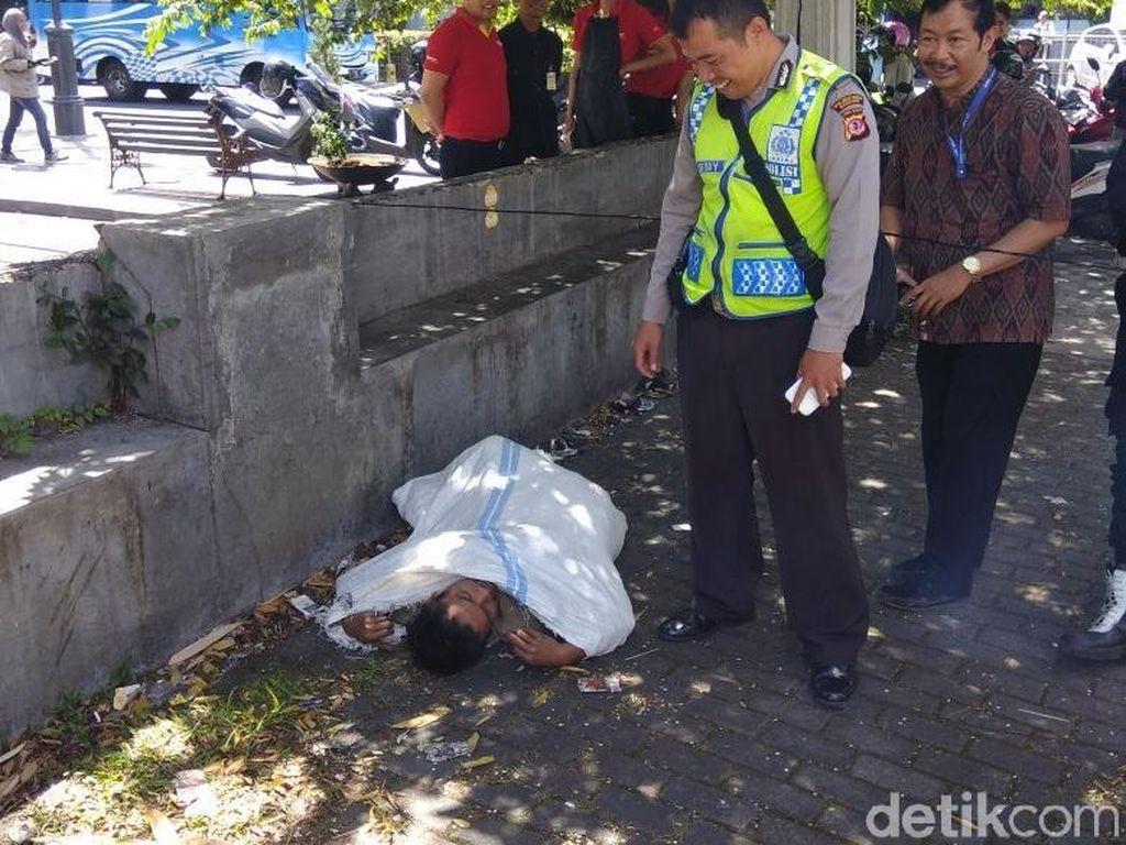 Dikira Korban Pembunuhan, Gelandangan di Bandung Ini Bikin Kaget