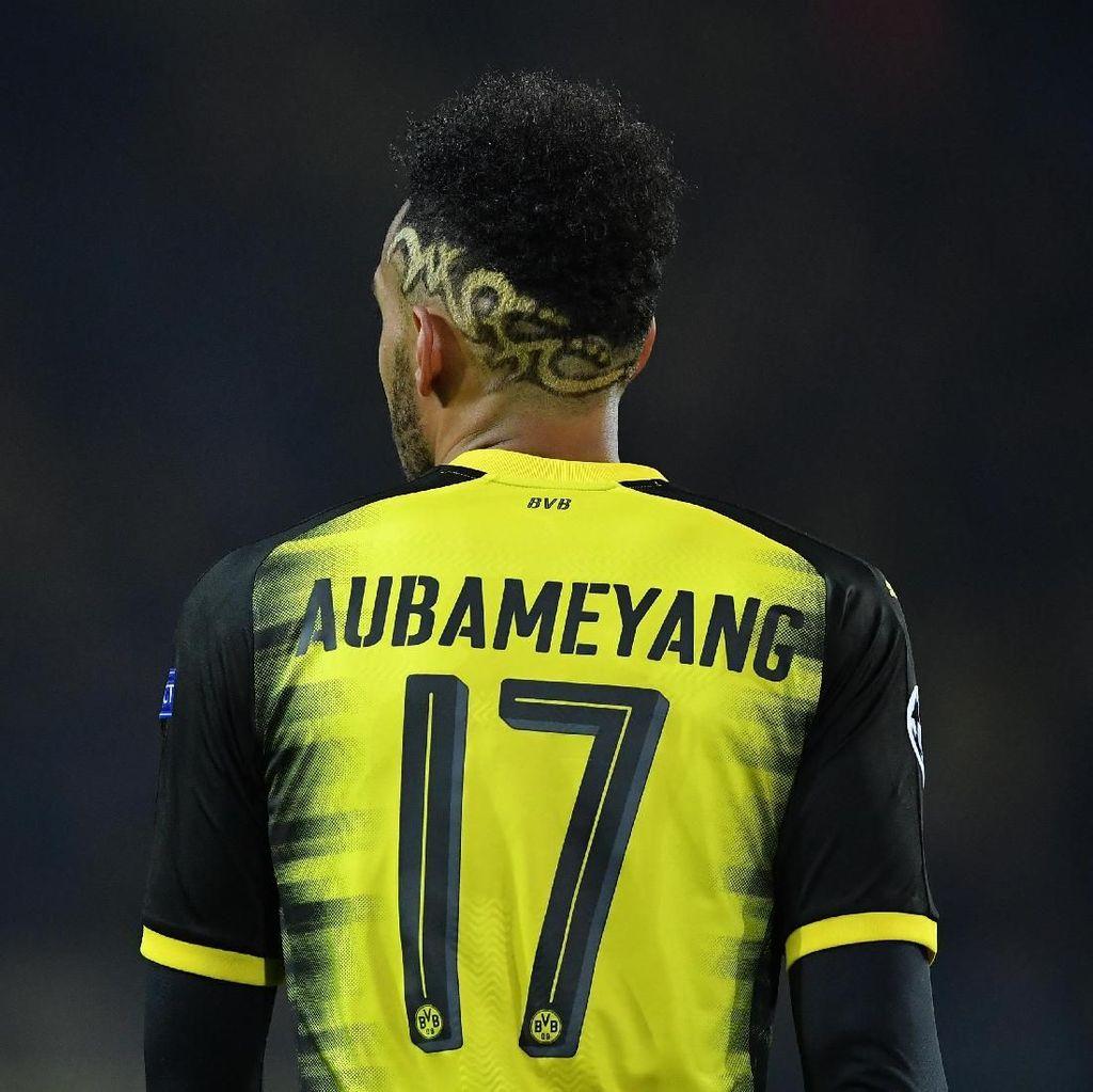 Pelatih Dortmund Senang Polemik Transfer Aubameyang Sudah Tuntas