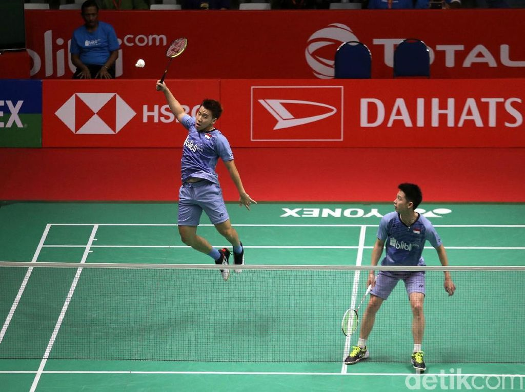 Kevin/Marcus Pijak Perempatfinal Indonesia Masters 2018