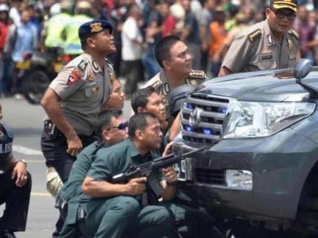 Throwback! Aksi Heroik Irjen Martuani Tumpas Teroris Bom Thamrin