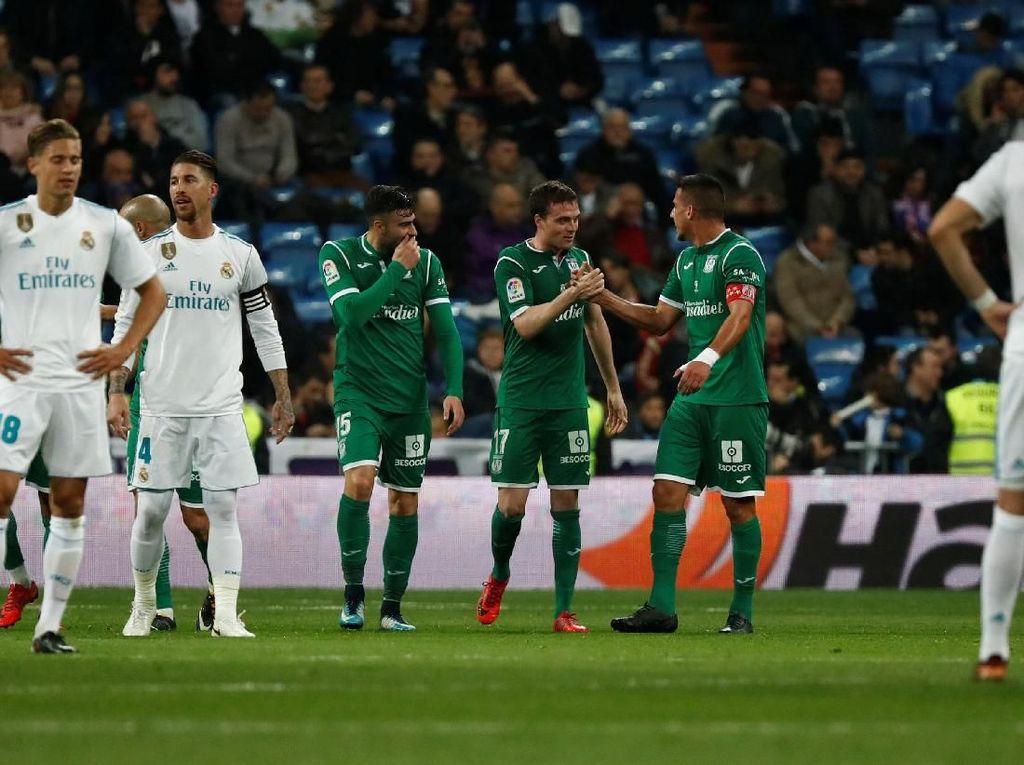Madrid Dipermalukan Leganes di Santiago Bernabeu