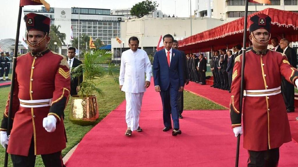 Foto: Jokowi ke Sri Lanka Jadi Kunjungan Presiden RI Setelah 39 Tahun