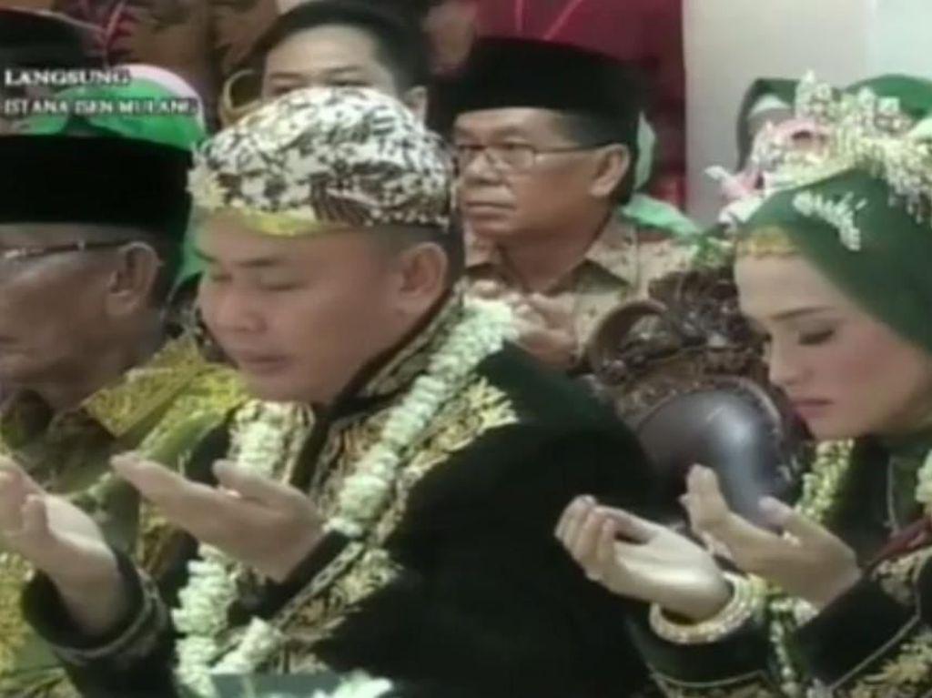 JK Hingga Mega Hadiri Pernikahan Gubernur Kalteng dengan Yulistra Ivo