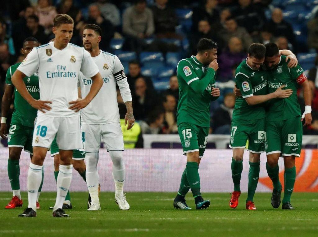 Madrid Disingkirkan Leganes