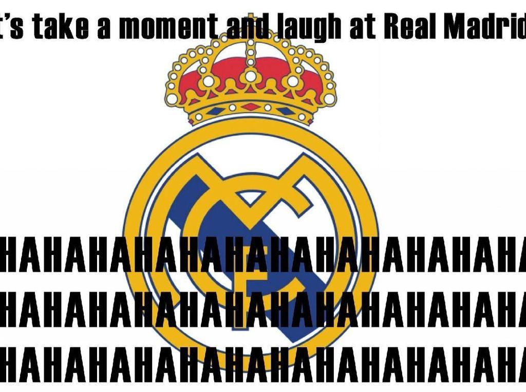 Madrid Kembali Ditertawakan Netizen
