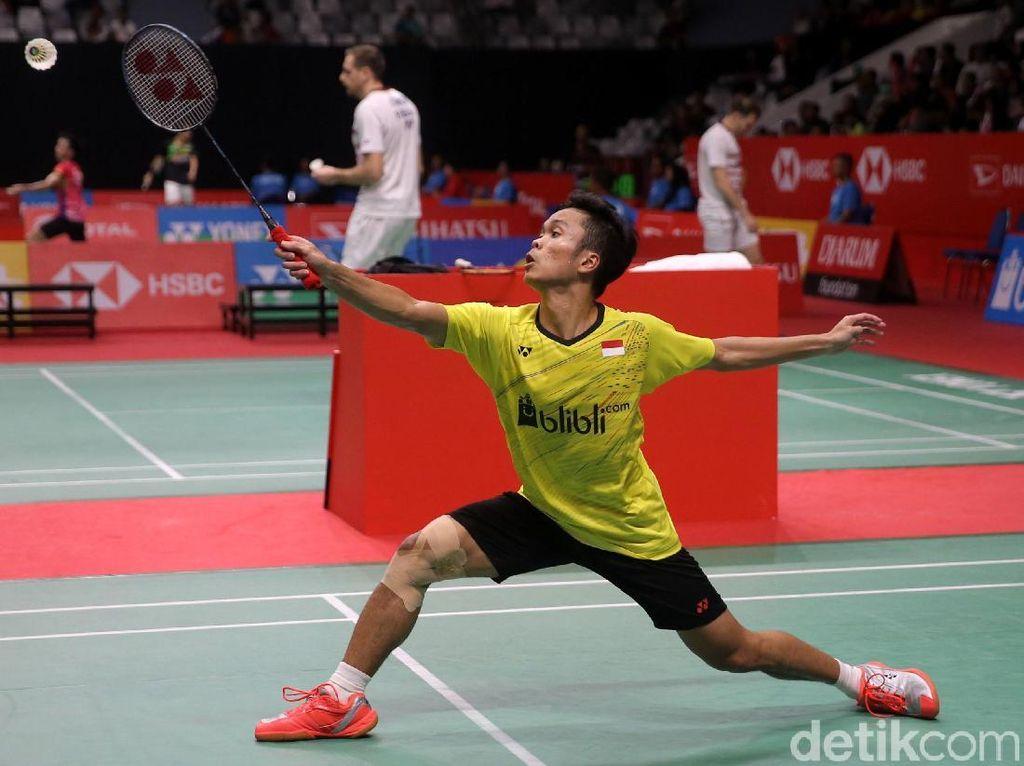 Taklukkan Chen Long, Anthony ke Semifinal