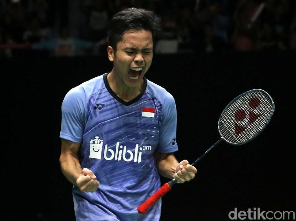 Anthony Ginting Lolos ke Semifinal Indonesia Masters 2018